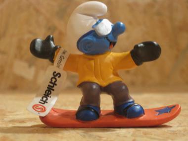 Snowboard-Schlumpf