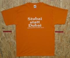 Stubai statt Dubai orange L
