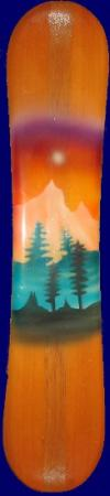 """Art-Board """"Glowing Sky"""""""