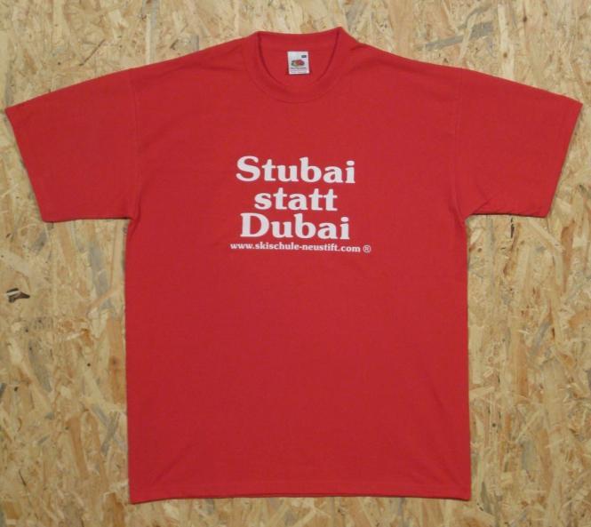 Stubai statt Dubai rot L