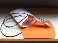 Geschenkverpackung Faltschachtel für Miniboard (OR - orange)